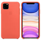 Cover For Apple iPhone 8 Plus 7 Plus XS Max XR Luxury Silicone Genuine Back Case