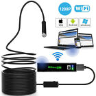 8MM WiFi Endoscope Inspection Camera Waterproof for iPhone Android PC iPad IOS