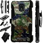 LUXGUARD For Onyx / Feller / Miro Phone Case Holster CAMO CROSSHATCH GREEN BROWN