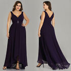 UK Ever-Pretty Womans Elegant Plus Size Long Evening Dress Maxi Prom Gowns 09983