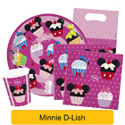 Disney Minnie Mouse D-LISH Birthday Party Tableware Supplies & Decorations (1C)
