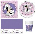 Disney MINNIE MOUSE UNICORN Birthday Party Range Tableware Supplies Decorations