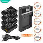 LP-E10 Battery or Charger For Canon Rebel T3 T5 T6 Kiss X50 EOS 1100D 1200D HT