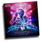 muse - simulation theory giclee canvas album cover art picture