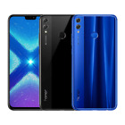 HONOR 8X DUAL SIM 64GB ANDROID SMARTPHONE - BLACK OR BLUE