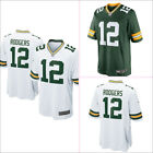 Men's Aaron Rodgers Green Bay Packers #12 Mens Jersey Green/White Size M-3XL on eBay