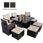 Rattan Outdoor Garden Furniture Patio Set Cube Sofa Weave Wicker Dining 6 4 Seat