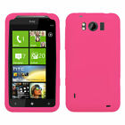 Solid Silicone Skin Cover Case for HTC X310a Titan