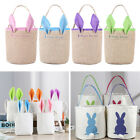 Easter Bag Canvas Handbag  Bunny Candy Snack Basket Party Cookies Bags