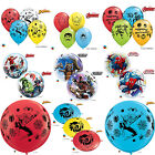MARVEL SPIDERMAN & AVENGERS Qualatex Latex & Bubble Balloons Birthday Party (1C)