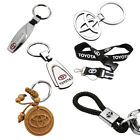 TOYOTA Car Logo Key Chains Metal, Wood, Leather. High Quality -Ships From USA-