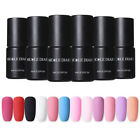 NICOLE DIARY 6ml One Step Matte Gel Polish Soak Off UV Gel Colorful Black Gel