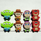 Внешний вид - 8-13pcs/lot Toy Story PVC Shoe Charms Accessories fit in Shoes & Bracelets Gifts