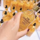 24K Pure Gold Foil Hydrating Moisturizing Essence Oil Face Lip Makeup Anti-Aging image