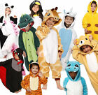 New Boys Girls Kid Pajamas Kigurumi Halloween Cosplay Animal Costume  Sleepwear