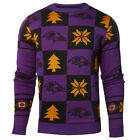 Baltimore Ravens NFL Repeat Patches Holiday Sweater on eBay