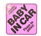 Baby In Car On Board Suction Cup Window Body Panel Safety Sign Logo Boy / Girl