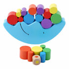 Novel Kids Moon Balancing Wooden Blocks Stacking Toy Baby Early Learning Gift US