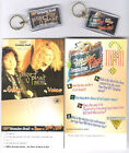 2 Jimmy Page and Robert Plant 1995 Tour Items! Display & Keychain! Led Zeppelin