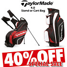 TAYLORMADE GOLF BAG TAYLORMADE STAND BAG OR CART BAG 4.0 * 40% SALE * LTD STOCK