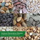 Decorative Coloured Stones Pebbles Cobbles Slate Gravel Chippings Aggregates