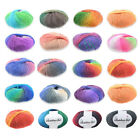 1Ball Soft Worsted Yarn Colour Gradient Baby Knitting Crochet  Supplies