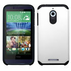 For HTC Desire 510 512 Hybrid IMPACT Hard TUFF Hybrid Case Phone Cover