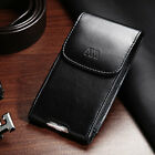 Black Business Executive Cell Phone Clip Holder Belt Loop Vertical Pouch Case