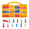 More images of 285 Pcs Assorted Insulated Electrical Wire Terminals Crimp Kits Spade Set