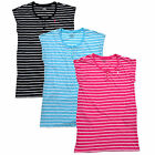 Ralph Lauren Womens Pajama Dress Nightgown Pj Sleepwear Striped S M New Nwt Rl