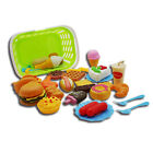 Plastic Fast Food Playset Hamburg, Cola Food Toy for Pretend Play Gift for Kids