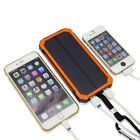 10000mAh Solar  Power Bank Charger Battery Portable Mobile Pover Bank