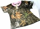 Mossy Oak Camo Pink Girl's Baby Toddler Shirt - Kid's Camouflage Clothes