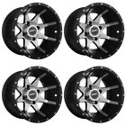 4 ATV/UTV Wheels Set 14in Sedona Storm Machined 10mm 4/137 5+2 CAN