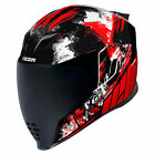 Icon Airflite Stim Motorcycle Helmet Red
