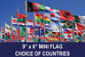 More images of 9 x 6 (22CM x 15CM) MINI POLYESTER SMALL FLAG CHOOSE YOUR DESIGN