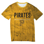 Pittsburgh Pirates Big Logo Half Tone Tee by Forever Collectibles on Ebay