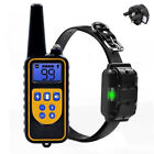 Dog Shock Collar w/ Remote Waterproof Electric For Large 800 Yard Pet Training