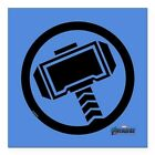 CafePress Thor Symbol Square Car Magnet 3 X 3 Bumper Sticker (417333515)
