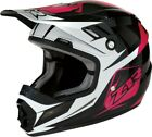 Z1R Rise Ascend Youth MX Offroad Helmet Pink