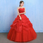 Ball Gown Wedding Dresses Elegant Sleeveless Tulle Corset Bridal Dress Plus Size