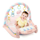 3 in 1 Baby Musical Gym Play Mat Fitness Kick Piano Activity Soft W/ Control Toy