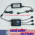 3 In 1 Battery Balance Charger For RC Parrot Bebop 2 Drone Quadcopter UK US M8