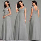 Ever-Pretty Woman V-Neck Homecoming Gowns Formal Lace Evening Maxi Dress 07719