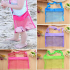 Mesh Beach Bag Kids Pack Tote Portable Carrying Toy Ball Storage Pouch Ca Rr