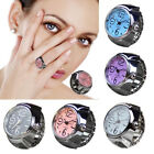 Creative Unisex Elastic Quartz Watch Ring Fashion Classic Colorful Finger Watch image