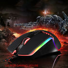 MOTOSPEED 8 Buttons 5000DPI RGB Backlit USB Plug 1.8M Wired Optical Gaming Mouse