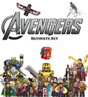 Marvel Super Heroes Avengers Endgame & Infinity War 8/16/pc Lot Super Heroes Set