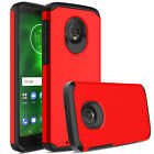 For Motorola Moto G6 Phone Cover Shockproof Dual-Layer Protection Hybrid Case