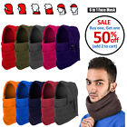 Cold Weather Windproof Thermal Fleece Neck Warm Balaclava Ski Full Face Mask Hat